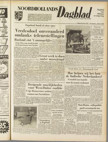 Noordhollands Dagblad : dagblad voor Alkmaar en omgeving 1953-11-06