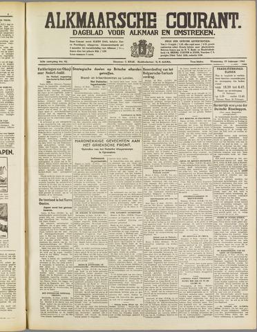 Alkmaarsche Courant 1941-02-19