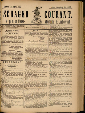 Schager Courant 1889-04-14