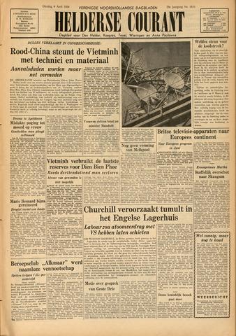 Heldersche Courant 1954-04-06