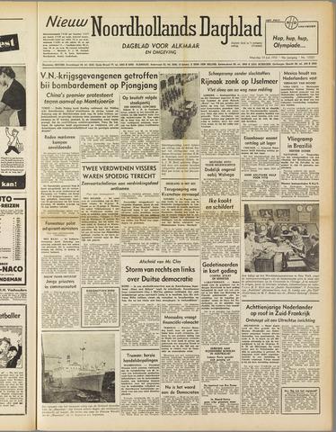 Nieuw Noordhollandsch Dagblad : voor Alkmaar en omgeving 1952-07-14