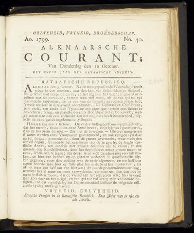 Alkmaarsche Courant 1799-10-10