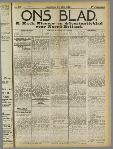 Ons Blad : katholiek nieuwsblad voor N-H 1910-05-14