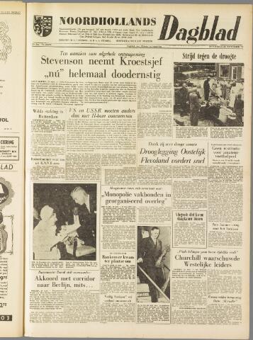 Noordhollands Dagblad : dagblad voor Alkmaar en omgeving 1959-09-24