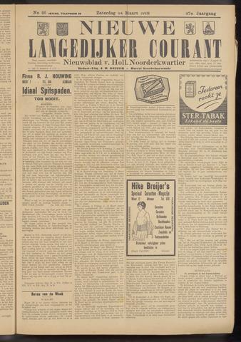 Nieuwe Langedijker Courant 1928-03-24