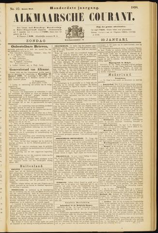 Alkmaarsche Courant 1898-01-23