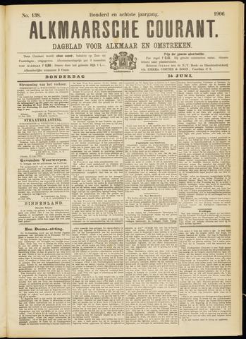Alkmaarsche Courant 1906-06-14