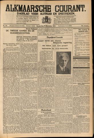 Alkmaarsche Courant 1934-11-15