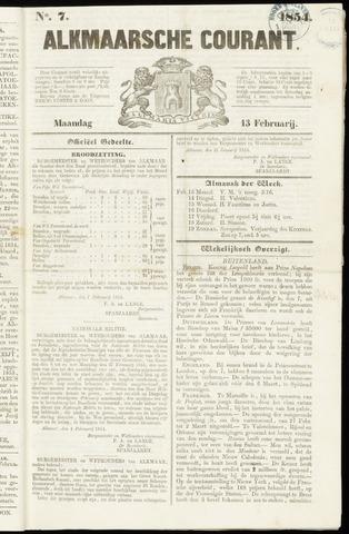 Alkmaarsche Courant 1854-02-13