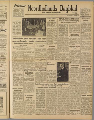 Nieuw Noordhollandsch Dagblad : voor Alkmaar en omgeving 1947-05-07