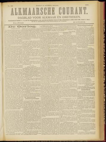 Alkmaarsche Courant 1916-10-30