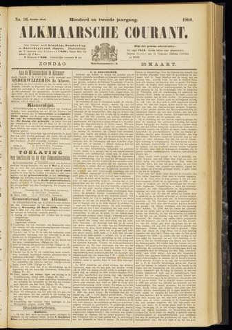 Alkmaarsche Courant 1900-03-25