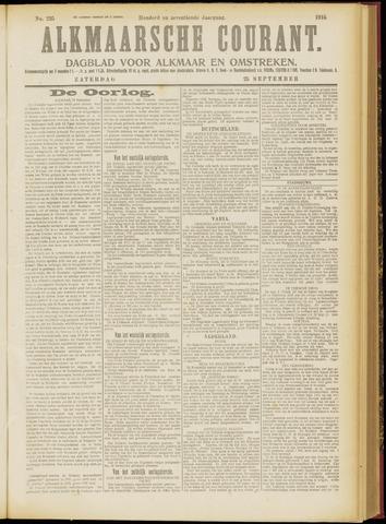 Alkmaarsche Courant 1915-09-25