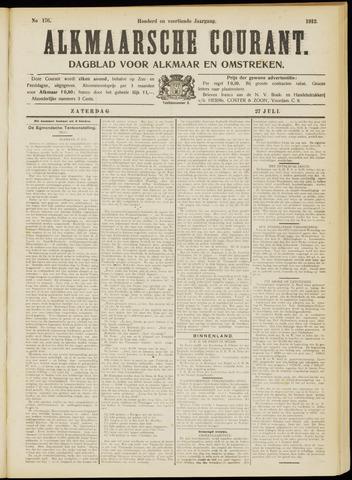 Alkmaarsche Courant 1912-07-27