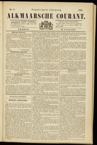Alkmaarsche Courant 1888-01-20