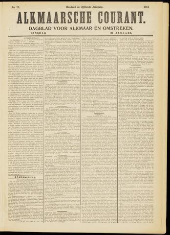 Alkmaarsche Courant 1913-01-21