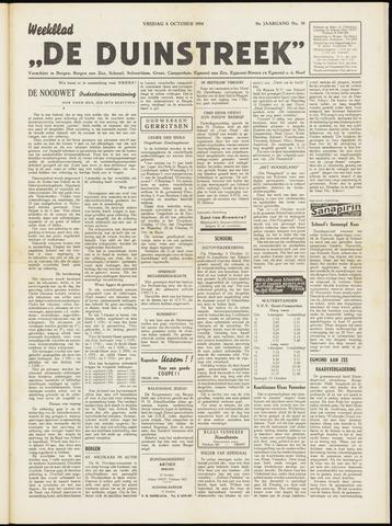 De Duinstreek 1954-10-08