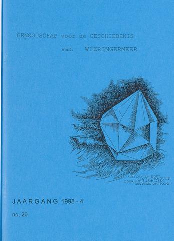 Kroniek Historisch Genootschap Wieringermeer 1998-10-01