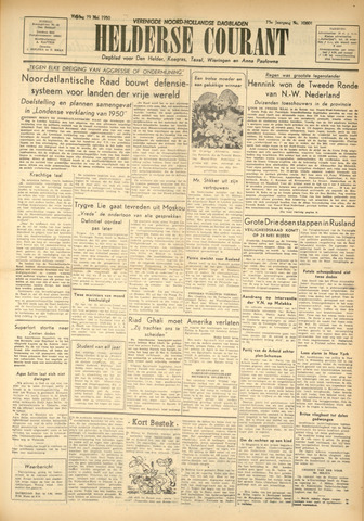 Heldersche Courant 1950-05-19