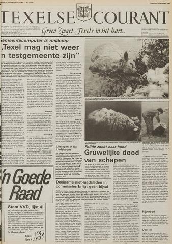 Texelsche Courant 1986-03-18