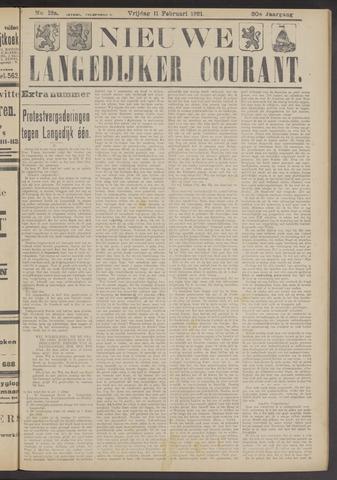 Nieuwe Langedijker Courant 1921-02-11