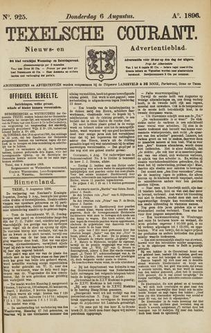 Texelsche Courant 1896-08-06