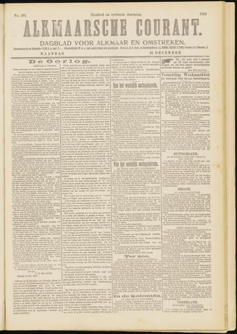 Alkmaarsche Courant 1914-12-21