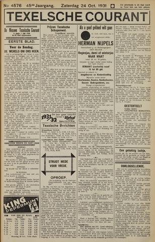Texelsche Courant 1931-10-24