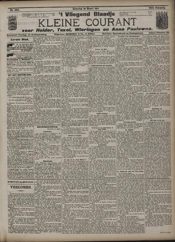 Vliegend blaadje : nieuws- en advertentiebode voor Den Helder 1910-03-26