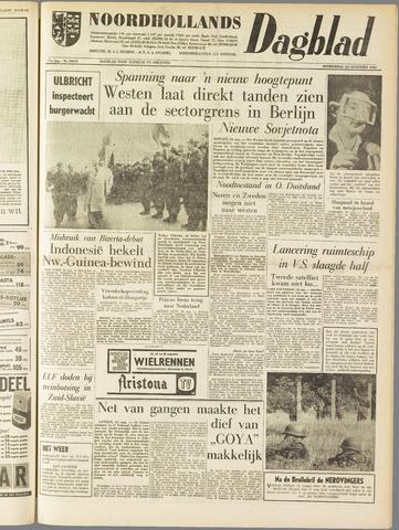 Noordhollands Dagblad : dagblad voor Alkmaar en omgeving 1961-08-24