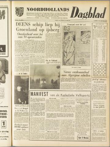 Noordhollands Dagblad : dagblad voor Alkmaar en omgeving 1959-01-31