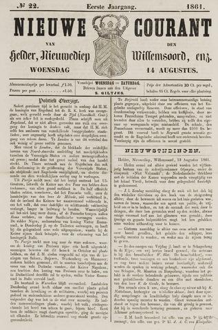 Nieuwe Courant van Den Helder 1861-08-14