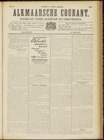 Alkmaarsche Courant 1909-03-15