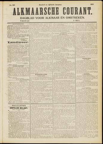 Alkmaarsche Courant 1913-05-09