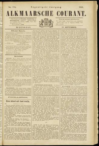 Alkmaarsche Courant 1888-09-19