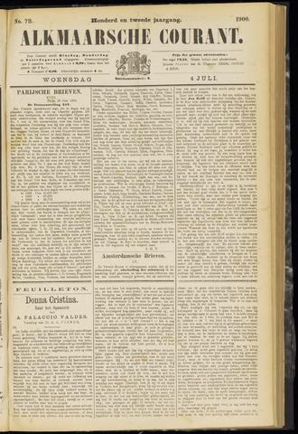 Alkmaarsche Courant 1900-07-04
