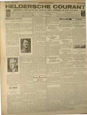 Heldersche Courant 1933-10-26