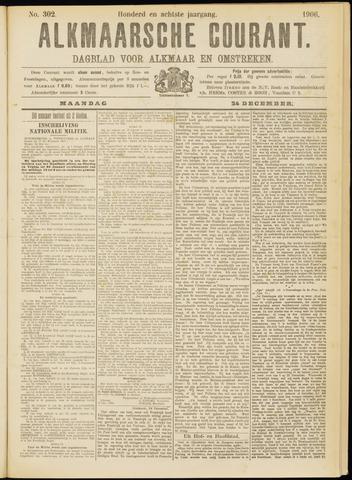 Alkmaarsche Courant 1906-12-24
