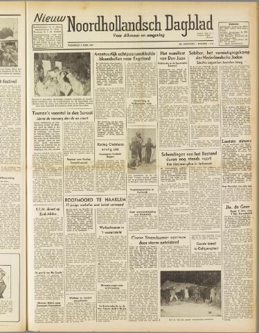 Nieuw Noordhollandsch Dagblad : voor Alkmaar en omgeving 1947-04-09