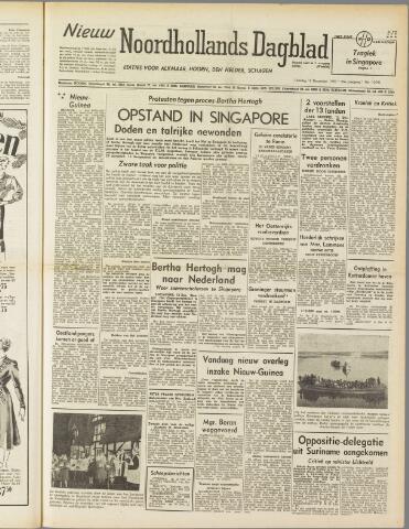 Nieuw Noordhollandsch Dagblad : voor Alkmaar en omgeving 1950-12-12