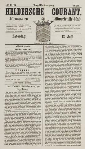 Heldersche Courant 1872-07-13
