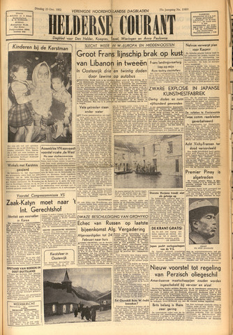 Heldersche Courant 1952-12-23
