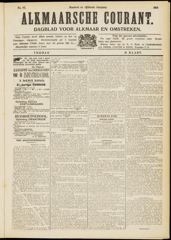 Alkmaarsche Courant 1913-03-21