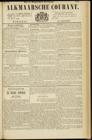 Alkmaarsche Courant 1894-08-15