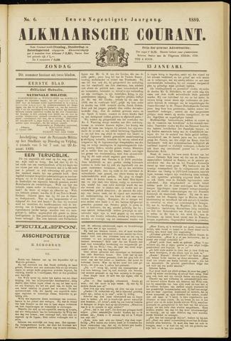 Alkmaarsche Courant 1889-01-13