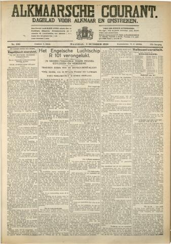 Alkmaarsche Courant 1930-10-06