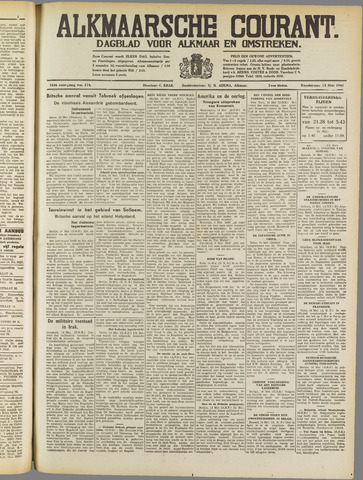 Alkmaarsche Courant 1941-05-15