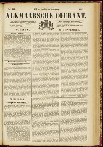 Alkmaarsche Courant 1883-09-19