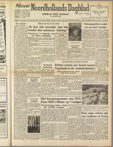 Nieuw Noordhollandsch Dagblad : voor Alkmaar en omgeving 1952-09-18