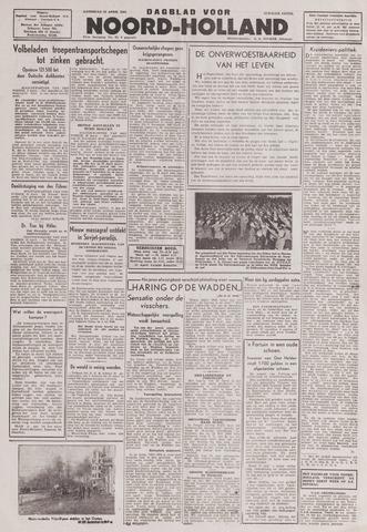 Dagblad Noord-Holland, Schager editie 1943-04-24